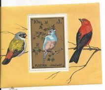 Fujeira  Feuillet - Timbres