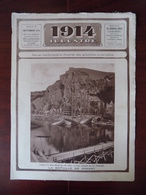 1914 Illustré N° 6 Les Bombardements De Dinant - Louvain - Charleroi - Liège - Artillerie Autrichienne à Bruxelles... - Guerre 1914-18