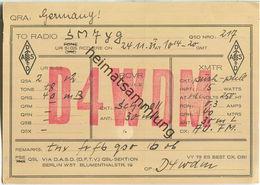 QSL - QTH - D4WDM - 1931 - Amateurfunk