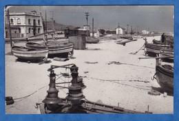 CPSM - PINEDA - Playa De Pescadores - 30 Juillet 1960 - Bateau De Pêche / Plage - Gare ? - Espagne