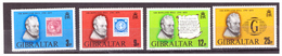 GIBRALTAR -  1979 - CENTENARY OF SIR ROWLAND HILL'S DEATH. COMPLETE SET.  - MNH** - Gibraltar