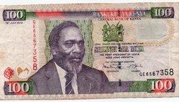 KENYA 100 SHILINGS 2010 P-48 - Kenya