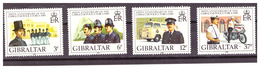 GIBRALTAR -  1980 - 150TH ANNIVERSARY OF GIBRALTAR'S ROYAL POLICE FORCE. COMPLETE SET. - MNH** - Gibraltar