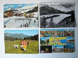 SUISSE - Lot 28 - Vues De Villes Et De Villages - 100 Cartes Postales Différentes - Postcards
