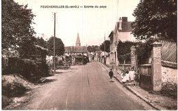 FEUCHEROLLES ... ENTREE DU PAYS - France