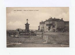 Brioude. Place Et Fontaine Du Postel. (3156) - Brioude