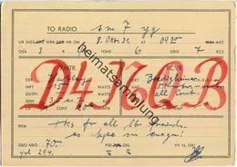 QSL - QTH - D4NQB - 1931 - Amateurfunk