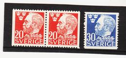 ECK1037 SCHWEDEN 1946 Michl 325DI/Dr + 326 ** Postfrisch SIEHE ABBILDUNG - Schweden