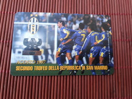 Phonecard Juventus Football (Mint,Neuve)  Rare - San Marino