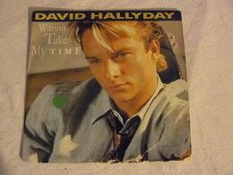 874 048 7 DAVID HALLYDAY Wanna Take My Time. - Rock