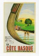 COTE BASQUE - Chemin De Fer P-O-Midi - La Vie Du Rail - Vierge - Tbe - Publicité