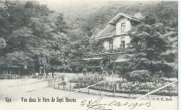 Spa - Vue Dans Le Parc De Sept Heures - C.V.C Brux. - 1903 - Spa
