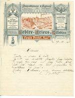 BELLE FACTURE AMEUBLEMENT D'EGLISE SEBIRE-BRIENS A VILLEDIEU-LES-POELES 1932 - France
