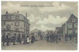 Cpa Chatenois - Grande Rue Et La Poste     (S. 3389 ) - Chatenois