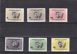 El Salvador Nº 694 Al 696 Y A191 Al A193 - El Salvador