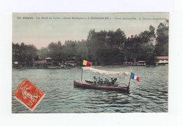 Olivet. Les Bords Du Loiret. Grand Restaurant à Madagascar. Canot Automobile Avec Touristes. (3159) - France