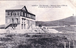 74 - Haute Savoie -  ANNECY - Semnoz Alpes - L Hotel Et La Croix De Chatillon - Annecy