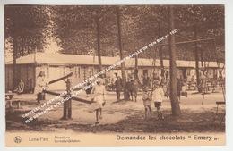 """CAPPELLE OP DEN BOSCH - CAPPELLE AU BOIS / LUNA PARC KAPELLE OP DEN BOS +/- 1927 PUB DEMANDEZ LES CHOCOLATS """"EMERY"""" - Kapelle-op-den-Bos"""