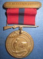 "Medaille USMC Marines ""Good Conduct"" WW2 - Etats-Unis"