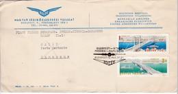 M387 Premier Vol 1965 Budapest - Athens - Nicosia - Damas First Flight Erstflug MALEV IL-18 - Aviones