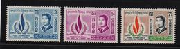 Cambodia 1968, Human Rights, Complete Set, MNH - Cambodia
