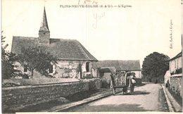 FLINS NEUVE EGLISE ... L EGLISE - France