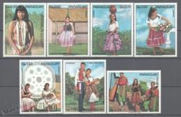 Paraguay 1974 Yvert 1360-66, Tourism, Indigenous Costumes - MNH - Paraguay