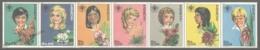 Paraguay 1981 Yvert 1842-48, International Year Of The Children, Portraits & Flowers - MNH - Paraguay