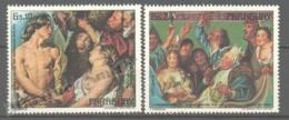 Paraguay 1978 Yvert Airmail 795-96, 300th Ann. Death Of Paintor Jacob Jordaens - MNH - Paraguay