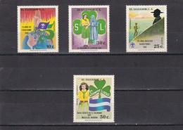 El Salvador Nº 892 Al 894 Y A487 Al A488 - El Salvador