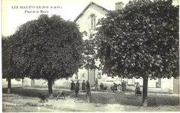 LES ALLUETS LE ROI .... PLACE DE LA MAIRIE - France