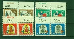 BERLIN--Nr. 310 / 313  , Oberrand-Berlin ,selten, Postfrisch - Ungebraucht