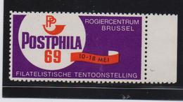Postphila 1969, Stamp-exposition, MNH (not A Real Stamp) - Cinderellas