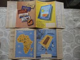 Année 60 4 Protèges Cahiers Le Bon Petit Déjeunr MALT KNEIPP - CACAO BARRY - LE CHOCOLAT - CHOCOLAT CASINO - Protège-cahiers
