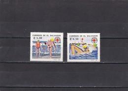 El Salvador Nº 1144 Al 1145 - El Salvador