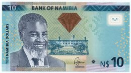 NAMIBIA 10 DOLLARS 2012 P-11a UNC - Namibie