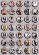 Brigitte Bardot Movie Film Fan ART BADGE BUTTON PIN SET 9 (1inch/25mm Diameter) 35 DIFF - Films