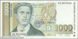 TWN - BULGARIA 105b - 1000 1.000 Leva 1997 Replacement ЯБ UNC - Bulgaria