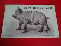 ILLUSTRATEUR L.GELIGNE S.M.GUILLAUME II - Patriotiques