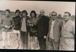 ROKSEM   FOTO 1973 - 13 X 9 CM -  VELDLOPEN TE ROKSEM - Oudenburg
