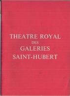 THÉATRE ROYAL DES GALERIES ST-HUBERT (BRUXELLS) '4 PIÈCES SUR JARDIN' De P.BARILLET Et J.P. GREDY. - Programs