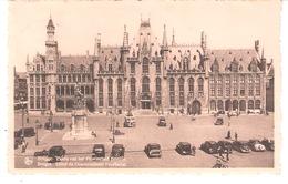Brugge-Bruges-1951-Paleis Van Het Provinciaal Bestuur-Vieilles Voitures-Oldtimers-Vintage Cars-Autocar-Autobus - Brugge