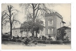 LANSAC (cpa 33)   Font Guilhem   ## VUE TRES RARE ##   -  L 1 - France