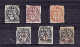 TYPE BLANC N° 107a/108/109/157/157a/157f NEUF** - 1900-29 Blanc