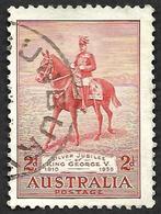 AUSTRALIE 1935 -  YT  102 - Jubilé Du Roi George V   - Oblitéré - Used Stamps
