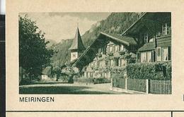 Carte Illustré Neuve N° 182 - 0249 H - MEIRINGEN   (Zumstein 2009) - Ganzsachen