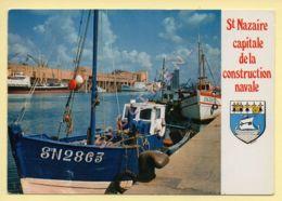44. SAINT-NAZAIRE – Les Chantiers – Blason (voir Scan Recto/verso) - Saint Nazaire