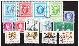 ECK1027 SCHWEDEN 1983 Michl 1239/45+1246/48+1258/61 Gestempelt SIEHE ABBILDUNG - Schweden