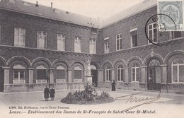 Leuze En Hainaut Etablissement Des Dames De St Francois De Sales Cour St Michel DVD 12308 - Leuze-en-Hainaut