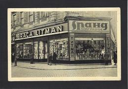 CPA Serbie Serbia Non Circulé Magasin Shop Front Belgrade - Serbia
